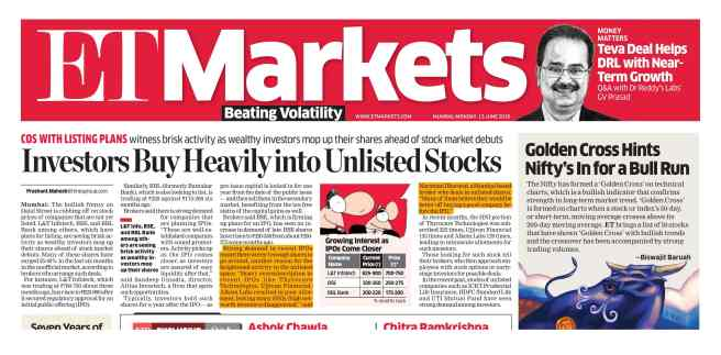 Unlisted shares in demand